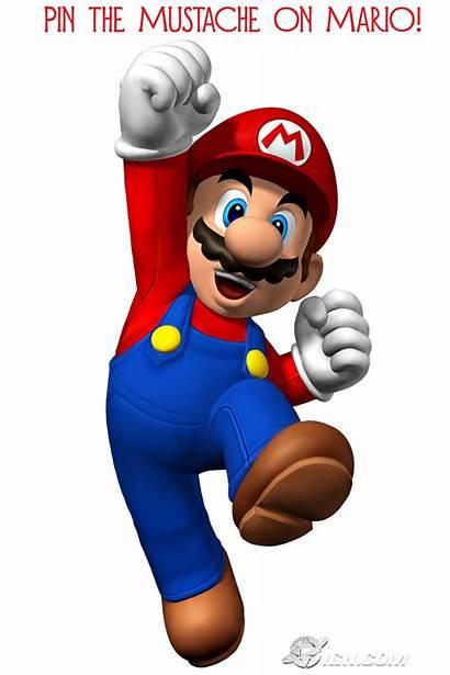Mario Super Mustache Party Bros Birthday Bingo