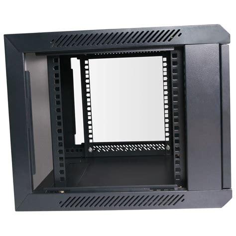 wall mount cabinet 450mm wall mount 4ru cabinet data rack hcc