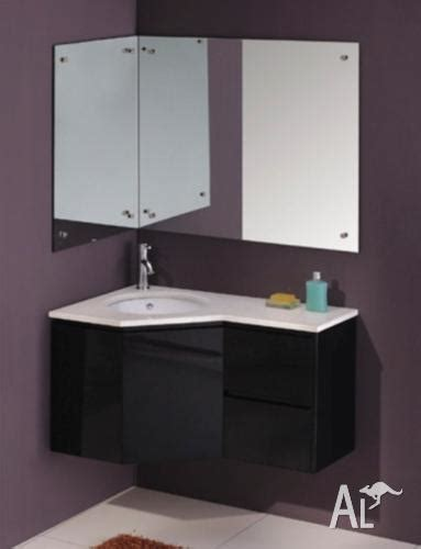 rh lh corner vanity cabinet vienna  sale