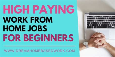Best Paying Entry Level by Best 10 High Paying Entry Level You Can Do From Home