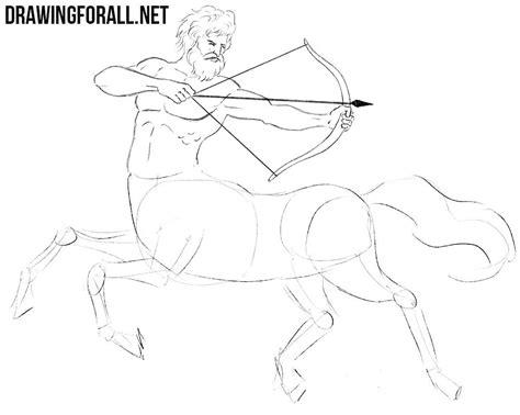 draw  centaur drawingforallnet