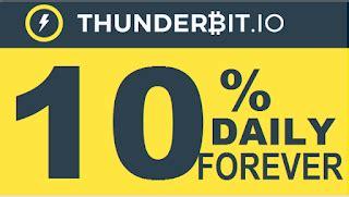bitcoin forum thunderbit investment review