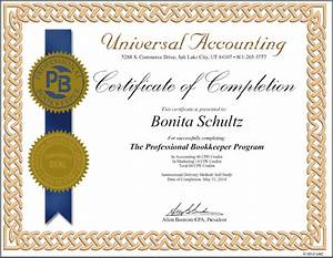 Professional Bookkeeper Certification | Universal ...
