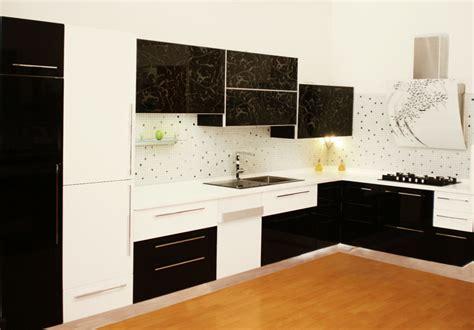 meuble de cuisine noir et blanc cuisine top cuisine fabrication montage et