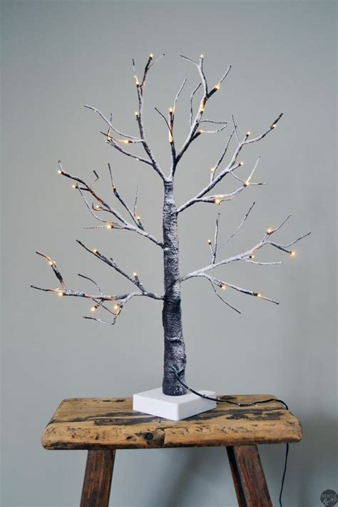 small luxury light up tree outdoor indoor use led twig