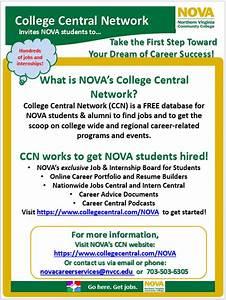 NOVA's College Central Network | Jobs and Internships