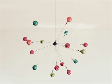 ornament mobile holiday inspiration pinterest