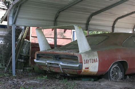 barn finds cars barn find 1969 dodge daytona charger discovered in