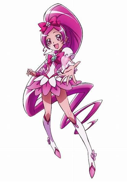 Cure Pretty Blossom Clover Deviantart Tsubomi Heartcatch