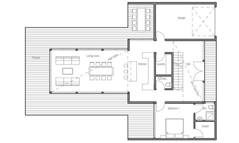 modern floorplans small modern house plans one floor picture cottage house