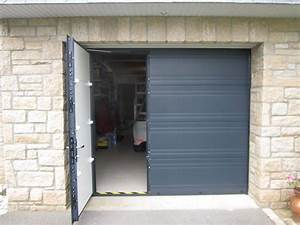 porte de garage boreal ouvertures le hezo vannes 56 With porte de garage enroulable de plus bloc porte interieur