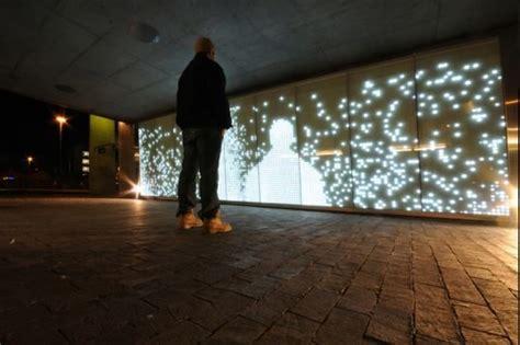 light installation art installation light movement