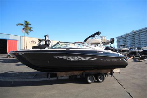 Monterey Boats Dealer Miami by 2014 Monterey 217 Blackfin Power New And Used Boats For Sale