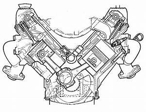 V8 Engine Exploded View Diagram Car  V8  Free Engine Image