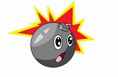 Bomb Animated Clipart Explosion Exploding Boom Bombe
