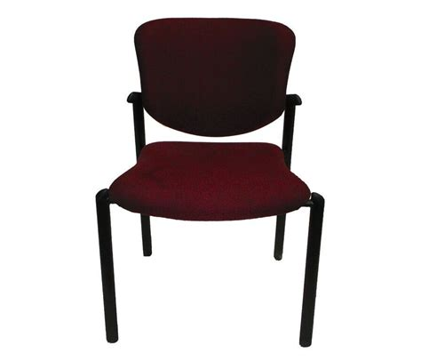 Haworth Improv 3H-15 Stack Chair Maroon