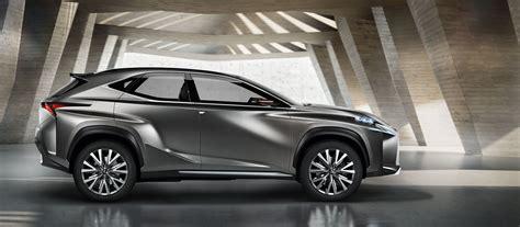 lexus crossover black lexus lf nx concept side