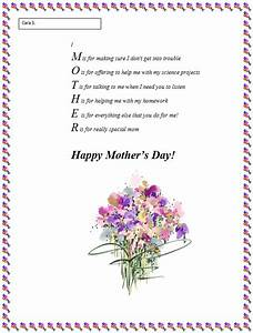 Mother's Day Poem Generator | Teach: general stuff ...