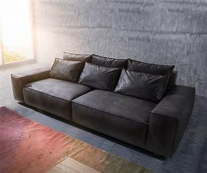 Big Sofa 250 Cm : big sofa sirpio xl 270x125 cm anthrazit vintage kedernaht m bel sofas big sofas ~ Bigdaddyawards.com Haus und Dekorationen