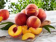 Georgia Peach Fruit Wallpaper