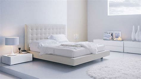 White Contemporary Bedroom, Modern White Bedroom Furniture