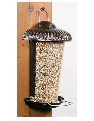 duncraftcom prairie wall mount bird feeder