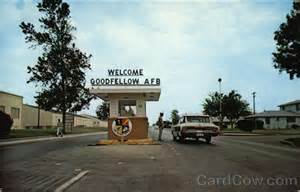 San Angelo Texas Goodfellow Air Force Base