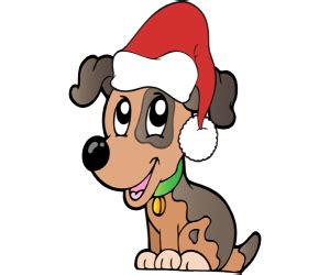 Bildergebnis für Hunde als Weihnachtsmann