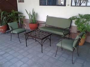 Diseño de Salas en Herreria Artistica, Salas para Jardin >