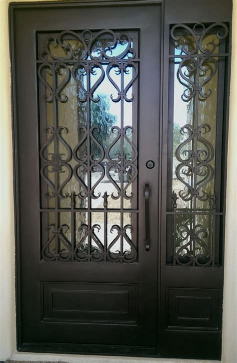 how to choose a front door wrought iron entry doors with side lights scottsdale az