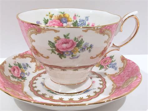 Lady Carlyle Royal Albert Tea Cup And Saucer Antique Tea