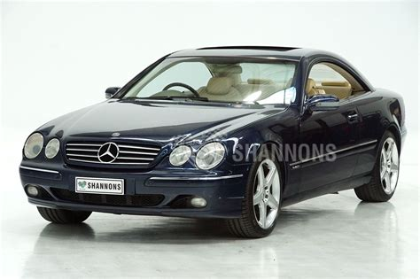 Exclusive reports and current films: Sold: Mercedes-Benz CL600 V12 Coupe Auctions - Lot 58 - Shannons