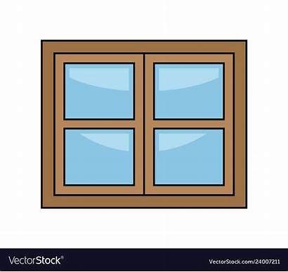 Window Cartoon Vector Symbol Icon Royalty Vectors