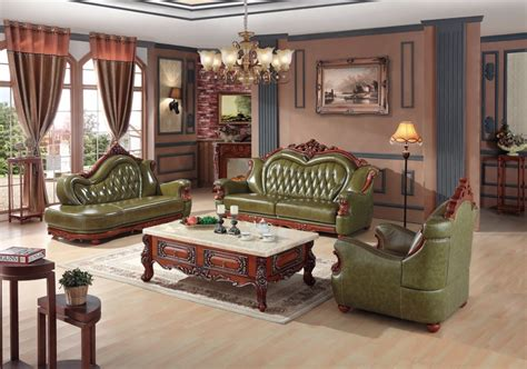 european leather sofa set luxury european leather sofa set living room china wooden