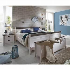 Schlafzimmermöbel Landhausstil Weiß : schlafzimmerm bel set in wei grau landhausstil 4 teilig online kaufen ~ Sanjose-hotels-ca.com Haus und Dekorationen