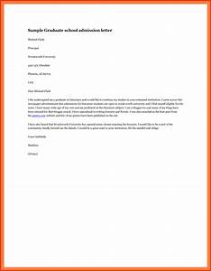 Luxury Admission Letter To  Personal Leave