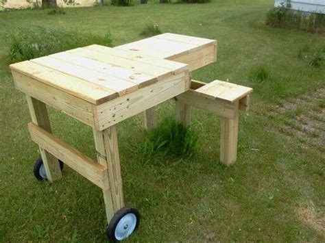 custom  twins seat shooting bench  built shooting