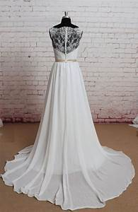 sheer lace back wedding dress sexy wedding dress a line With lace sheer back wedding dress