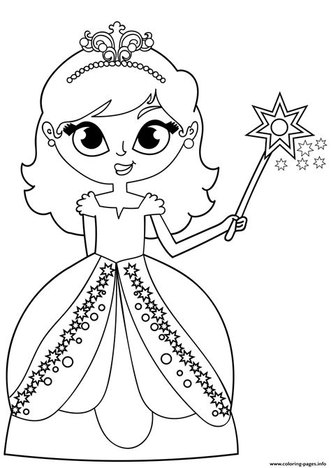 fairy princess coloring pages printable