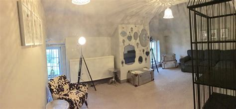Our New Changing Area!  Parklands, Quendon Hall Wedding