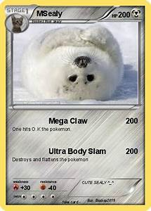 Pokémon MSealy 1 1 - Mega Claw - My Pokemon Card