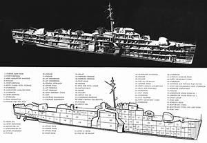 File Diagram Of Us Navy Wwii Destroyer Escort Png