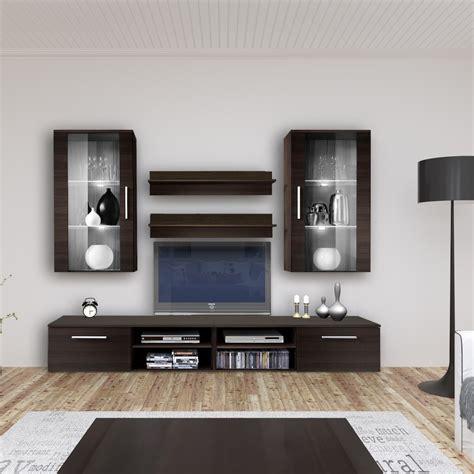 mensole tv parete parete attrezzata moderna base tv pensili e mensole benita