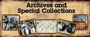 Archives and Special Collections, Library : Barry ...
