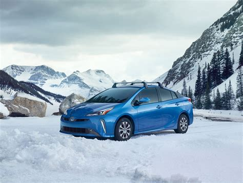 Toyota Of Winter by Toyota Adds All Wheel Drive Better Winter Battery