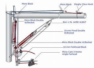Laser Sailboat Rigging Diagram