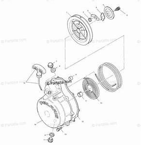 Polaris Atv 2001 Oem Parts Diagram For Recoil Starter