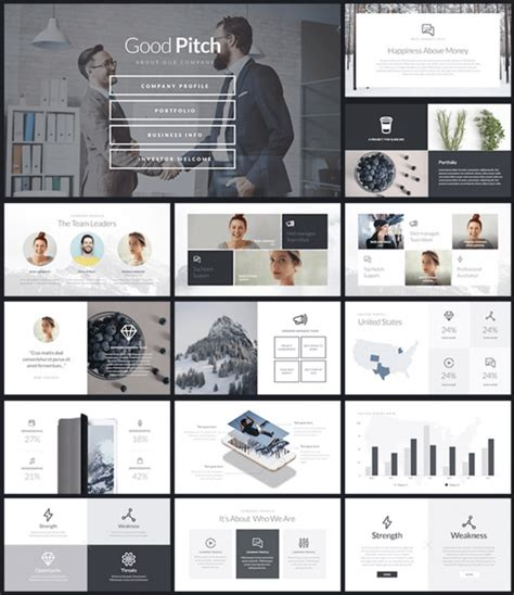 The Agency Pitch Keynote Bundle Presentation Templates 12 Best Presentation Templates Of 2018 For Ppt Keynote