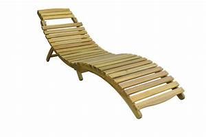 Chaise Longue Pliante : chaise longue pliante en bois d 39 acacia magasin en ligne ~ Melissatoandfro.com Idées de Décoration