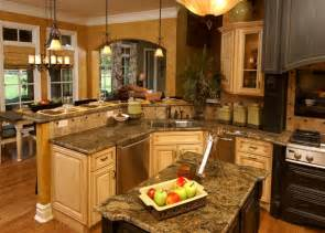 kitchen island bar designs house plans with gorgeous kitchen islands the house designers